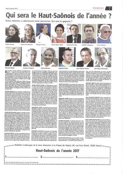 Article de La Presse de Vesoul