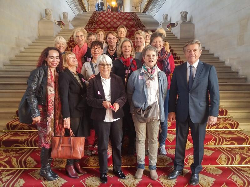 Visite du Sénat à Paris